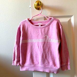 Garnet Dye wave sweat shirt size 2T